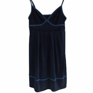 Navy American Eagle mini dress spaghetti size med